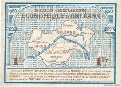 1 Franc FRANCE régionalisme et divers Orléans et Blois 1920 JP.096.03 pr.NEUF