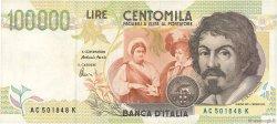 100000 Lires ITALIE  1994 P.117b TTB