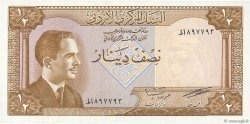1/2 Dinar JORDANIE  1959 P.13c NEUF