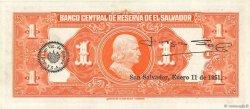 1 Colon SALVADOR  1949 P.083a SUP