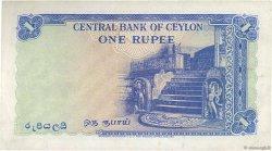 1 Rupee CEYLAN  1952 P.49 TTB