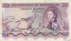 20 Rupees SEYCHELLES  1974 P.16c pr.TTB