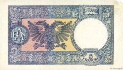 5 Franga ALBANIE  1939 P.06a TTB
