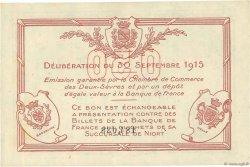 50 Centimes FRANCE régionalisme et divers NIORT 1915 JP.093.01 SPL