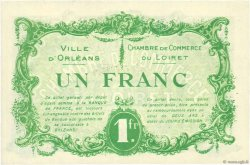 1 Franc FRANCE régionalisme et divers Orléans 1915 JP.095.06 NEUF
