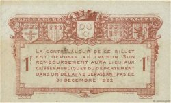 1 Franc FRANCE régionalisme et divers RODEZ ET MILLAU 1917 JP.108.15 NEUF