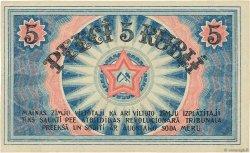 5 Rubli LETTONIE  1919 P.R3a pr.NEUF