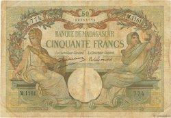 50 Francs MADAGASCAR  1948 K.811b pr.TB
