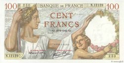 100 Francs SULLY FRANCE  1940 F.26.32 NEUF