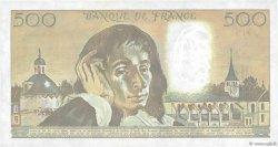 500 Francs PASCAL FRANCE  1990 F.71.43 SUP+