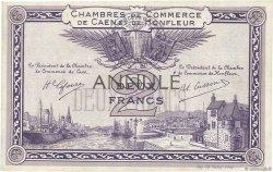 2 Francs FRANCE régionalisme et divers Caen et Honfleur 1918 JP.034.11 SUP