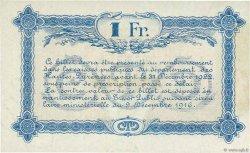 1 Franc FRANCE régionalisme et divers TARBES 1917 JP.120.15 SUP
