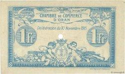 1 Franc FRANCE régionalisme et divers ORAN 1915 JP.141.12 SUP