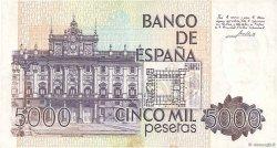 5000 Pesetas ESPAGNE  1979 P.160 pr.SUP