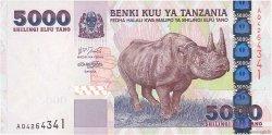 5000 Shilingi TANZANIE  2003 P.38 NEUF