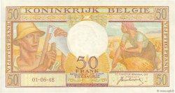 50 Francs BELGIQUE  1948 P.133a SUP
