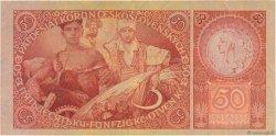 50 Korun TCHÉCOSLOVAQUIE  1929 P.022a TTB+