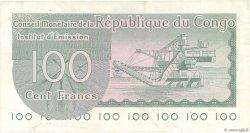 100 Francs CONGO (RÉPUBLIQUE)  1963 P.001a TTB+