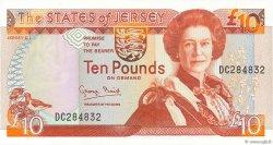 10 Pounds JERSEY  1993 P.22a NEUF