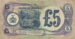 5 Pounds BIAFRA  1968 P.06a TTB