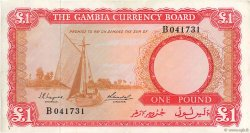 1 Pound GAMBIE  1965 P.02a TTB+