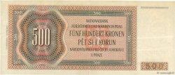 500 Korun BOHÊME ET MORAVIE  1942 P.12a TTB+