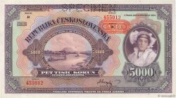 5000 Korun BOHÊME ET MORAVIE  1943 P.16s NEUF