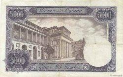 5000 Pesetas ESPAGNE  1976 P.155 TTB