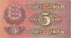 5 Krooni ESTONIE  1929 P.62a TTB