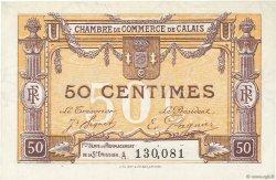 50 Centimes FRANCE régionalisme et divers Calais 1918 JP.036.33 SPL