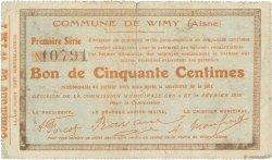 50 Centimes FRANCE régionalisme et divers  1915 JP.02-2464 TTB
