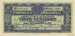 20 Centavos MOZAMBIQUE  1933 P.R29 NEUF