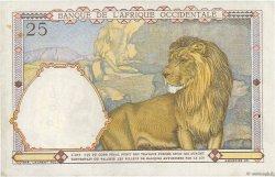 25 Francs AFRIQUE OCCIDENTALE FRANÇAISE (1895-1958)  1942 P.27 TB+