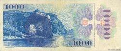 1000 Korun TCHÉCOSLOVAQUIE  1985 P.098 TB