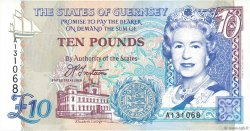 10 Pounds GUERNESEY  1995 P.57a NEUF