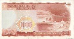 1000 Kroner NORVÈGE  1985 P.40c TTB