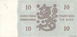 10 Markkaa FINLANDE  1963 P.104a SUP