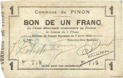 1 Franc FRANCE régionalisme et divers  1915 JP.02-1766 TTB