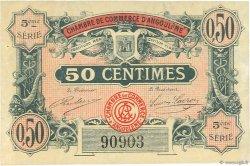 50 Centimes FRANCE régionalisme et divers Angoulême 1917 JP.009.33 TTB à SUP