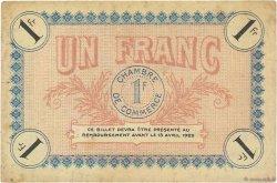 1 Franc FRANCE régionalisme et divers AUXERRE 1917 JP.017.17 TTB
