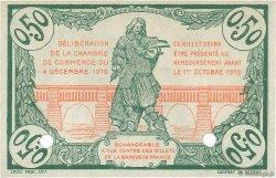 50 Centimes FRANCE régionalisme et divers BÉZIERS 1916 JP.027.21 NEUF