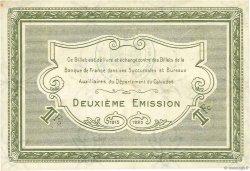 1 Franc FRANCE régionalisme et divers Caen et Honfleur 1918 JP.034.14 SUP