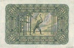 50 Francs SUISSE  1947 P.34o TTB+