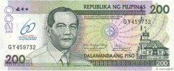 200 Piso PHILIPPINES  2009 P.203 NEUF