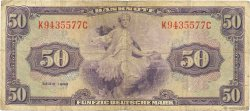 50 Mark ALLEMAGNE  1948 P.007a TB