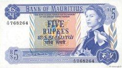 5 Rupees ÎLE MAURICE  1967 P.30a SPL