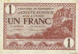1 Franc FRANCE régionalisme et divers Chateauroux 1922 JP.046.30 SUP