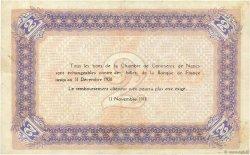 2 Francs FRANCE régionalisme et divers NANCY 1918 JP.087.25 SUP