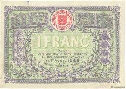 1 Franc FRANCE régionalisme et divers Saint-Die 1920 JP.112.20 pr.NEUF