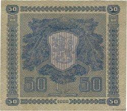50 Markkaa FINLANDE  1922 P.064a SUP